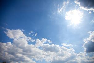 太陽と雲 FYI00410384