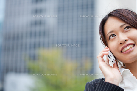 ビジネス 女性 OL 20代 フレッシュ ビジネス街 コピースペース FYI00410455