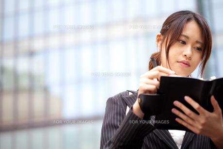 ビジネス OL フレッシュ システム手帳 書く 予定チェック FYI00410463