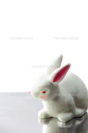 ウサギの置物 FYI00411832