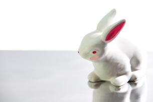 ウサギの置物 FYI00411848