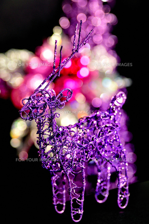 クリスマストナカイオーナメント FYI00414082