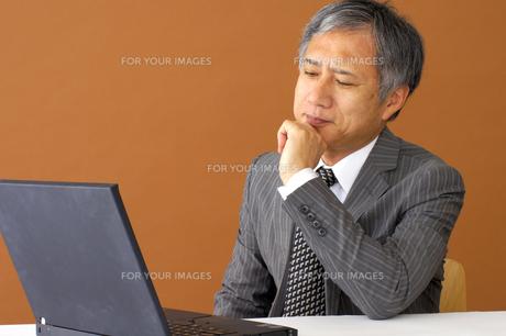 ビジネスマンのポートレート FYI00419161