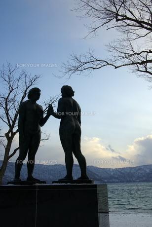 十和田湖畔 乙女の像 FYI00420131