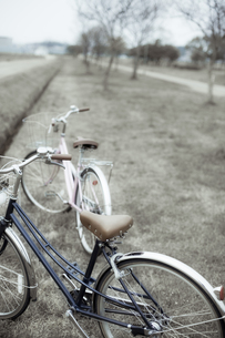 自転車のカップルの素材 [FYI00420818]