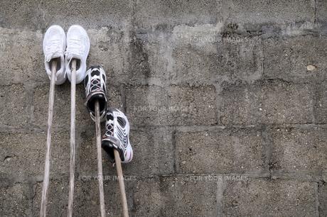 運動靴の洗濯の素材 [FYI00420826]