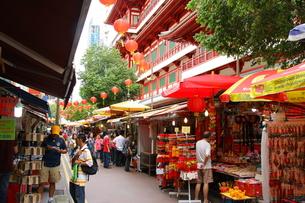 シンガポール、チャイナタウン FYI00425921