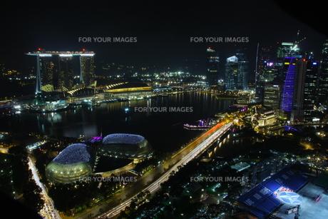 シンガポール夜景 FYI00425932