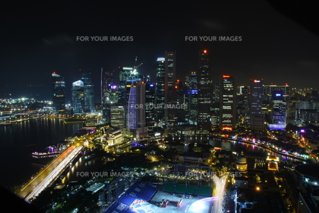 シンガポール夜景 FYI00425933