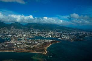 ハワイ・ワイキキ空撮 FYI00429877
