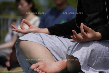 Yoga Under SKY FYI00433153