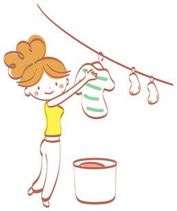 洗濯物干し FYI00439630