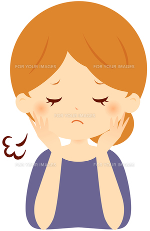 ため息をつく女性 FYI00439726