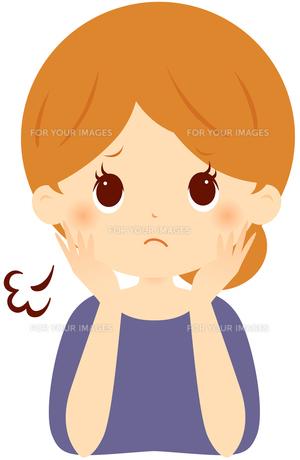 憂鬱な気分の女性 FYI00439735