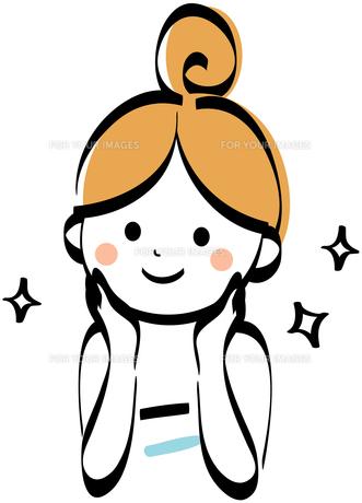 色白の女性 FYI00439752