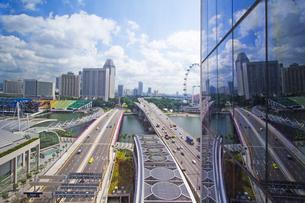 シンガポールの風景、窓越しに  FYI00451405