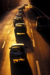 夕陽の道路 FYI00453598