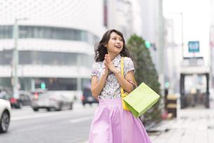 ショッピングを楽しむ女性 FYI00465755