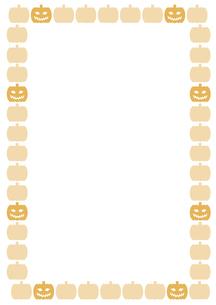 ハロウィンのカボチャのフレーム FYI00466225