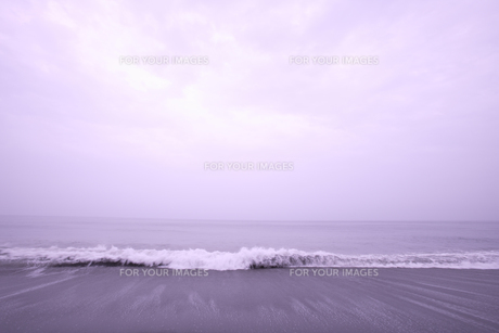 空と浜の波 室戸岬近辺の砂浜 FYI00469651