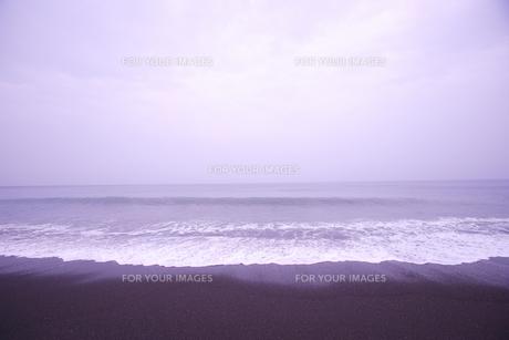 空と浜の波 室戸岬近辺の砂浜 FYI00469688