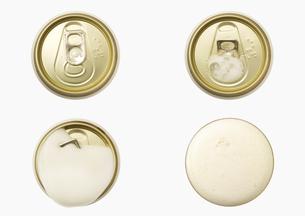 プルトップをあけて出てくるビールの泡 FYI00470574