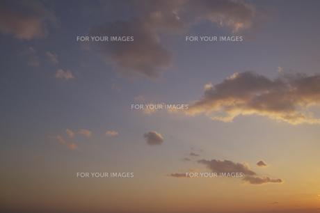 夕焼けと雲 FYI00471213