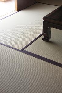 畳と机の脚 FYI00474872