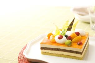 オレンジのパッションムースケーキ FYI00480005