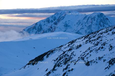 初冬の大日岳 FYI00481312