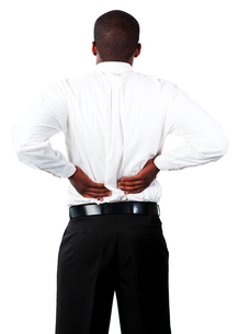 Muscular man with backpain FYI00482696