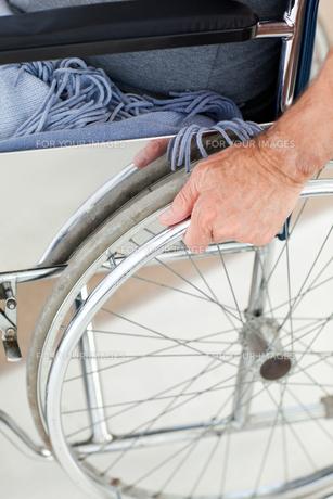 Man in his wheelchair FYI00483492