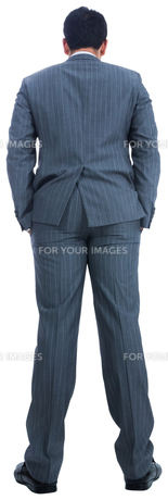 Businessman standing FYI00485785