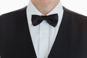 Close up of a Welldressed waiter FYI00486579