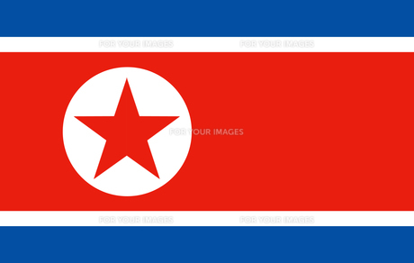 North Korea flag FYI00486588