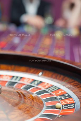 Roulette wheel FYI00486785