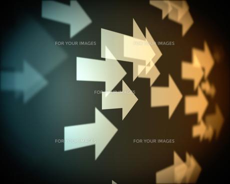 Background of multiple beige arrows FYI00486972
