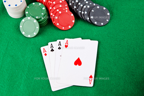Aces on the table FYI00487029