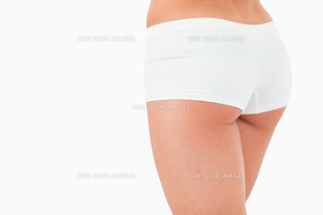 Close up of feminine buttocks FYI00487519