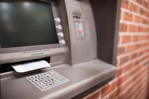 Close up of an ATM FYI00487546