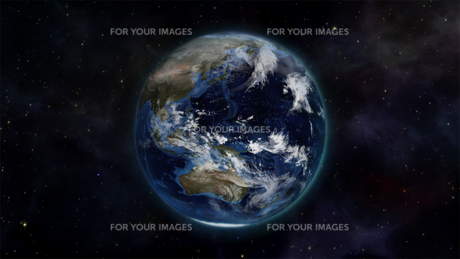 Illustration of the earth in space with an Earth image courtesy of Nasa.org FYI00487554