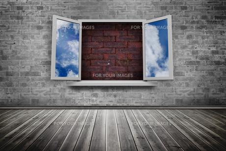 Open window on wall FYI00488066