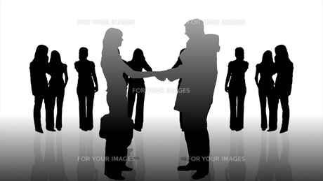 Teamwork in Businessの素材 [FYI00488203]