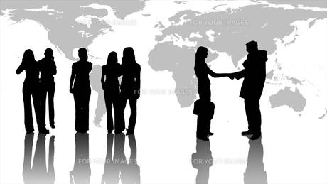 Teamwork in Businessの素材 [FYI00488282]