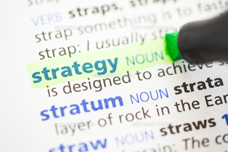 Strategy definition highlighted FYI00488440
