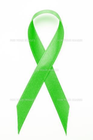 Green awareness ribbon FYI00488627