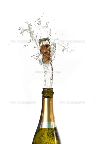 Champagne cork popping FYI00488652
