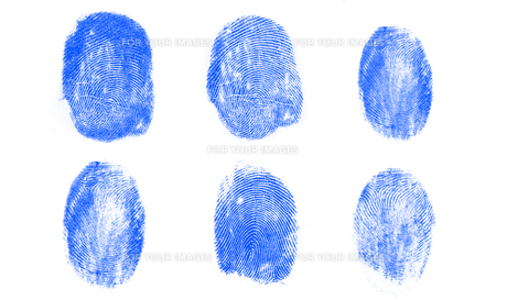 Blue fingerprints FYI00488735