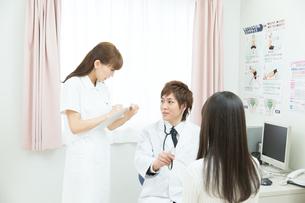 診察室の医師と患者 FYI00490467