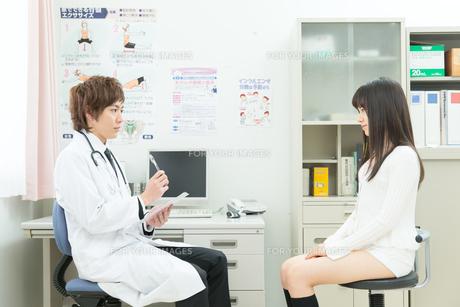 診察室の医師と患者 FYI00490473